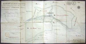 Ancienne carte de 1766